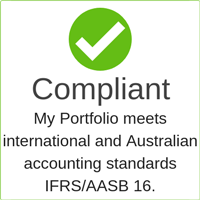 IFRS and AASB complaint lease management system