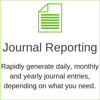 lease journal reporting