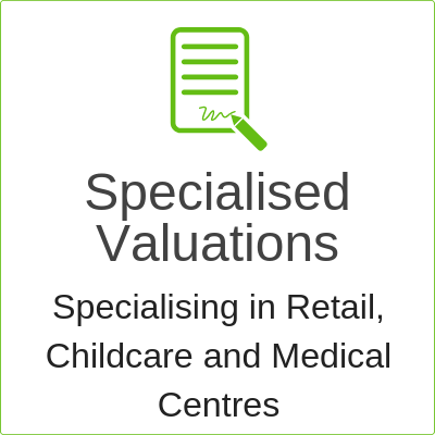 retail, childcare and medical centre lease valuations